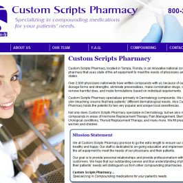 Custom Scripts Pharmacy