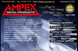 Ampex Metal Products