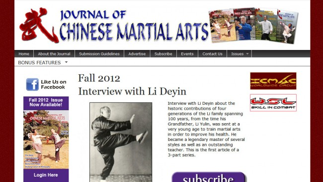 Journal of Chinese Martial Arts