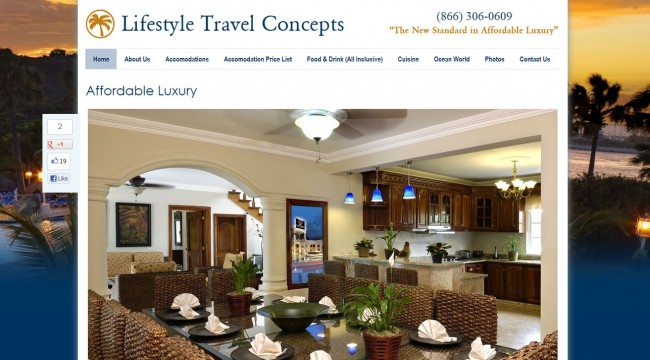 Lifestyle Travel Concepts